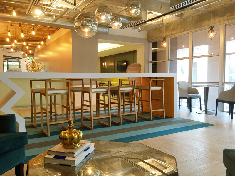 Pipeline Coral Gables co-working space has a really fun atmophere.