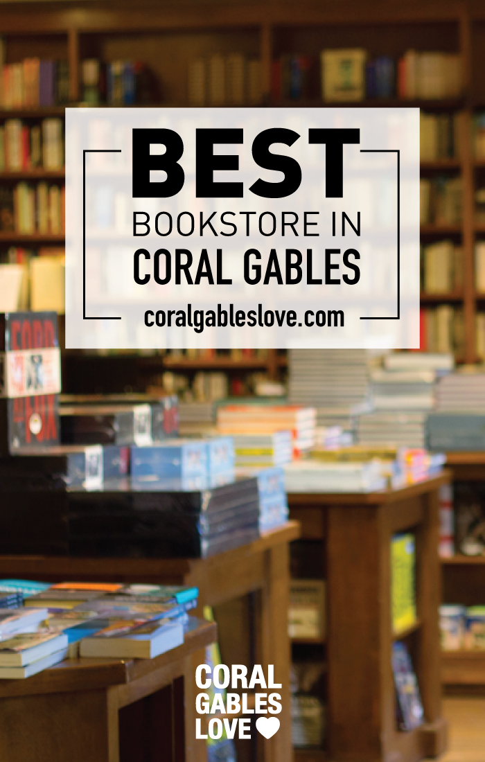 This is my favorite bookshop! It's an independent bookstore that has been running for over 30 years. Best Bookstore In Coral Gables, Books and Books