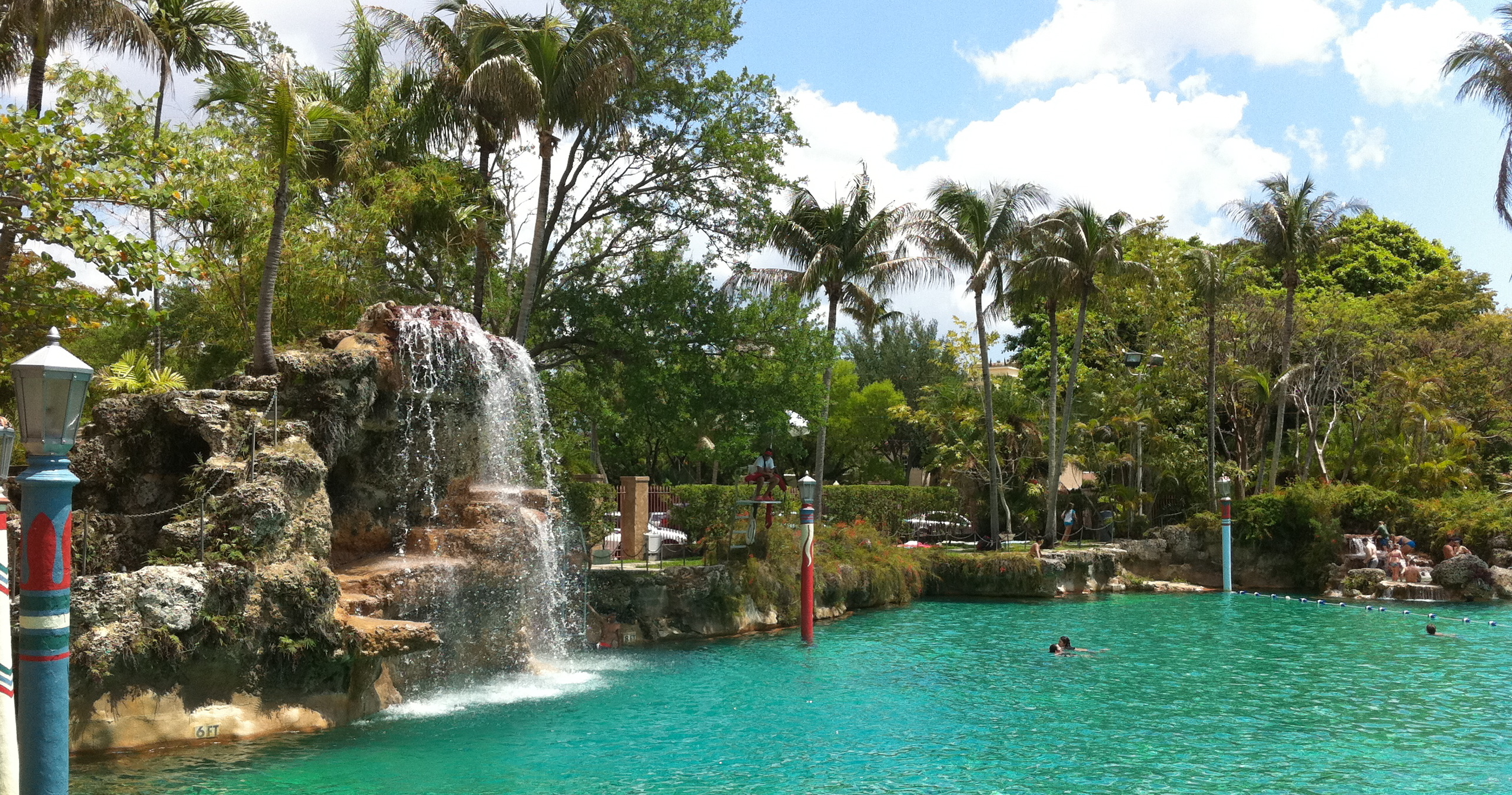 Unique Valentines Date Ideas Coral Gables: Valentines Day Dinner at the historic Venetian Pool