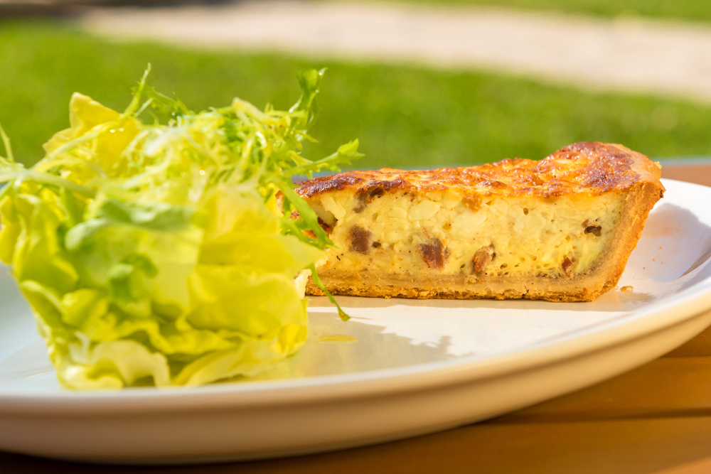 Quiche Maison from Brasserie Central in Coral Gables, Florida