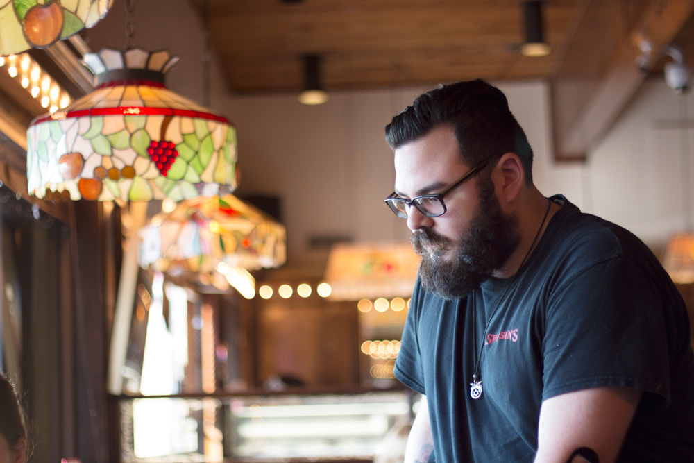 Swensen's Miami Beer Expert Riky in Coral Gables.