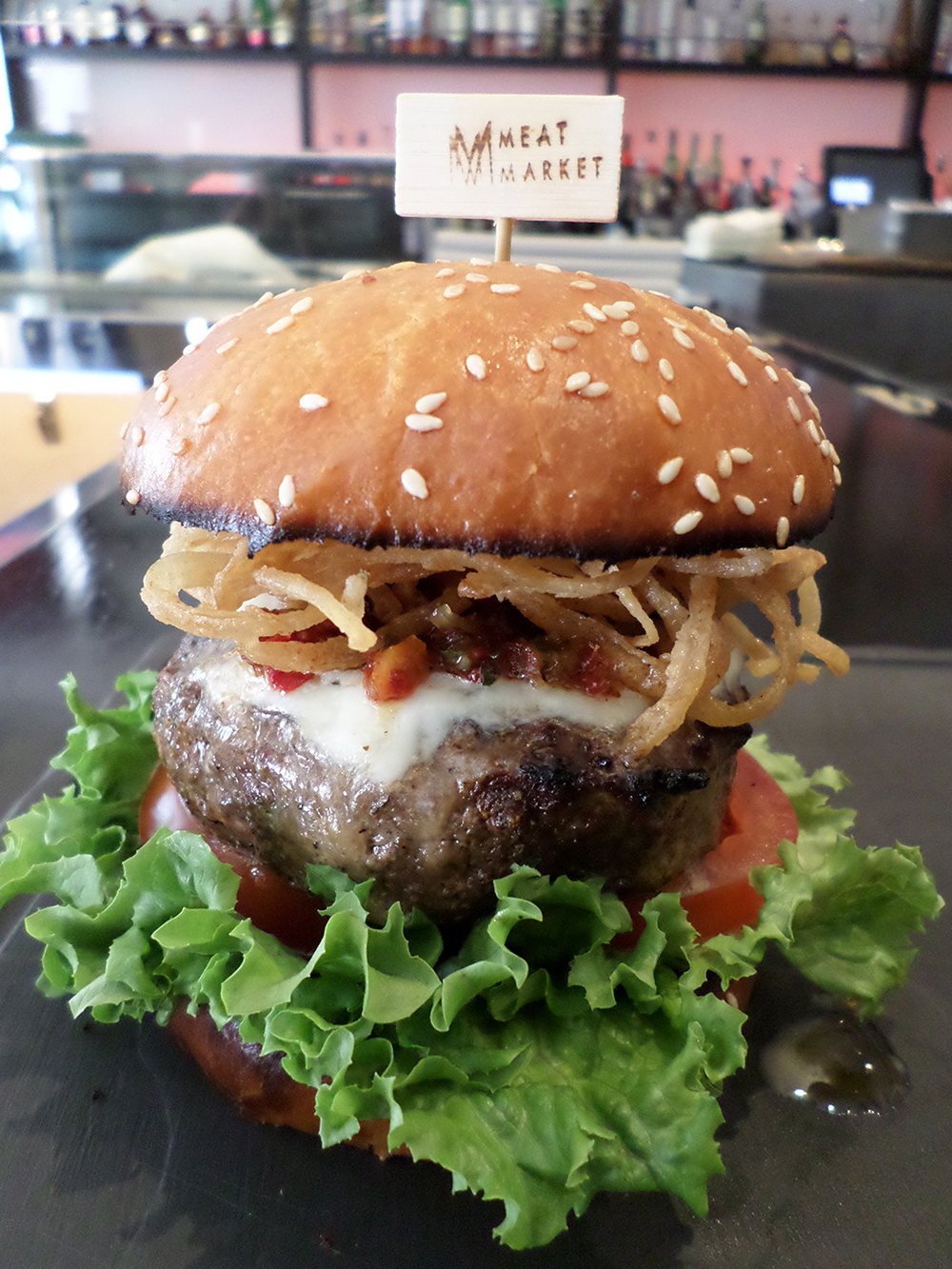 Meat Marker National Burger Month Burger in Miami