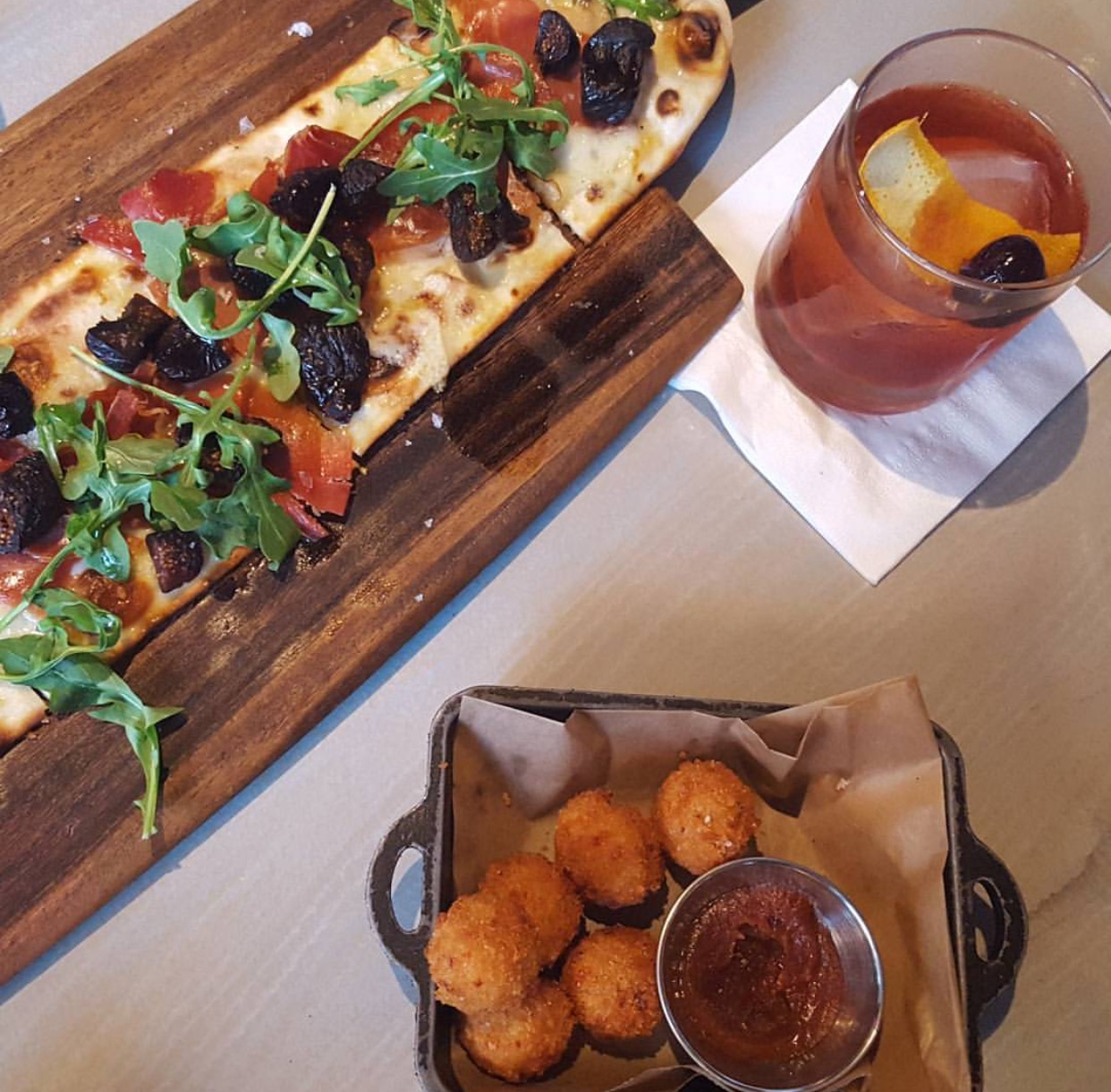 Trust and co Happy Hour in Coral Gables