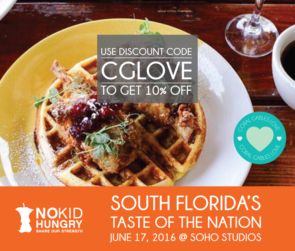 South Florida Taste of The Nation 2016 Promo Code in Miami