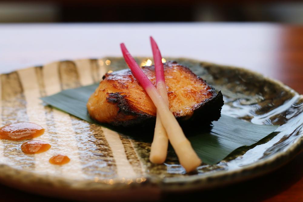 Nobu Miami at Eden Roc Hotel prix-fixe menu Alaskan Black Cod