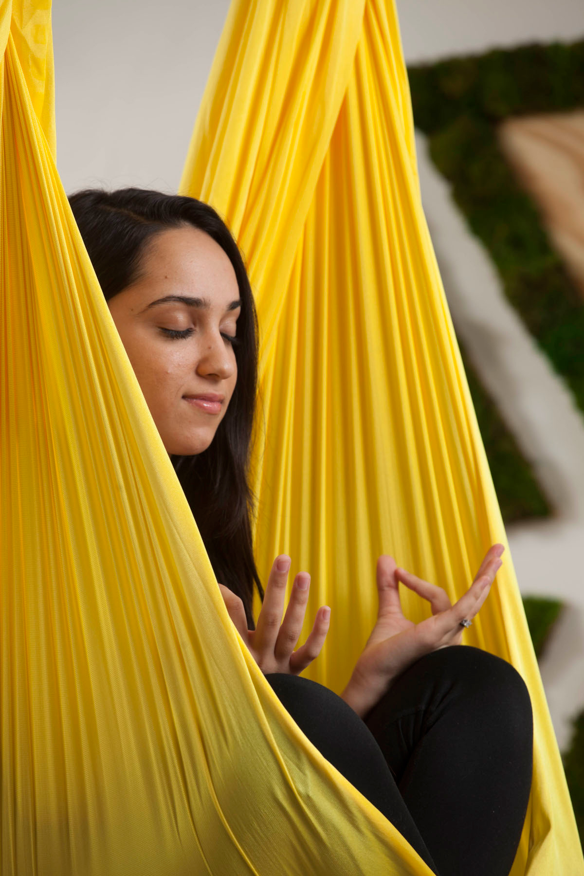 Zen Spot Holistic Spa in Coral Gables, Florida offers aerial meditation. Click to read more or pin and save for later!