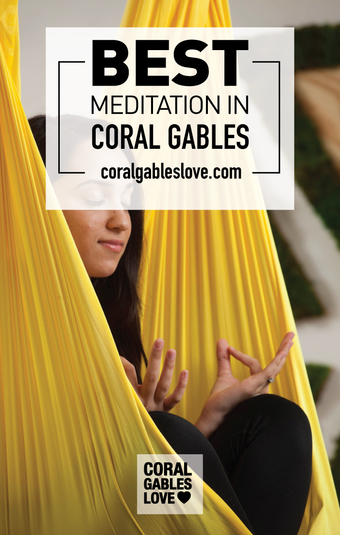 Zen Spot Holistic Spa in Coral Gables, Florida offers aerial yoga and meditation. Click to read more or pin and save for later! Miami Spa   South Miami   Coral Gables