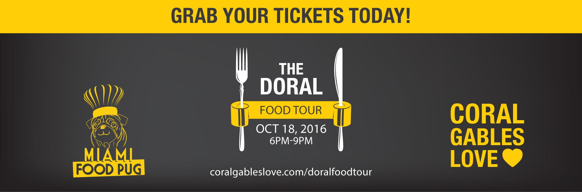 The Doral Food Tour October 2016