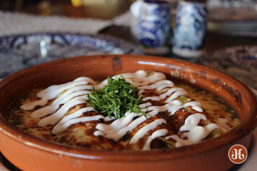 Talavera Coral Gables restaurant Enchiladas