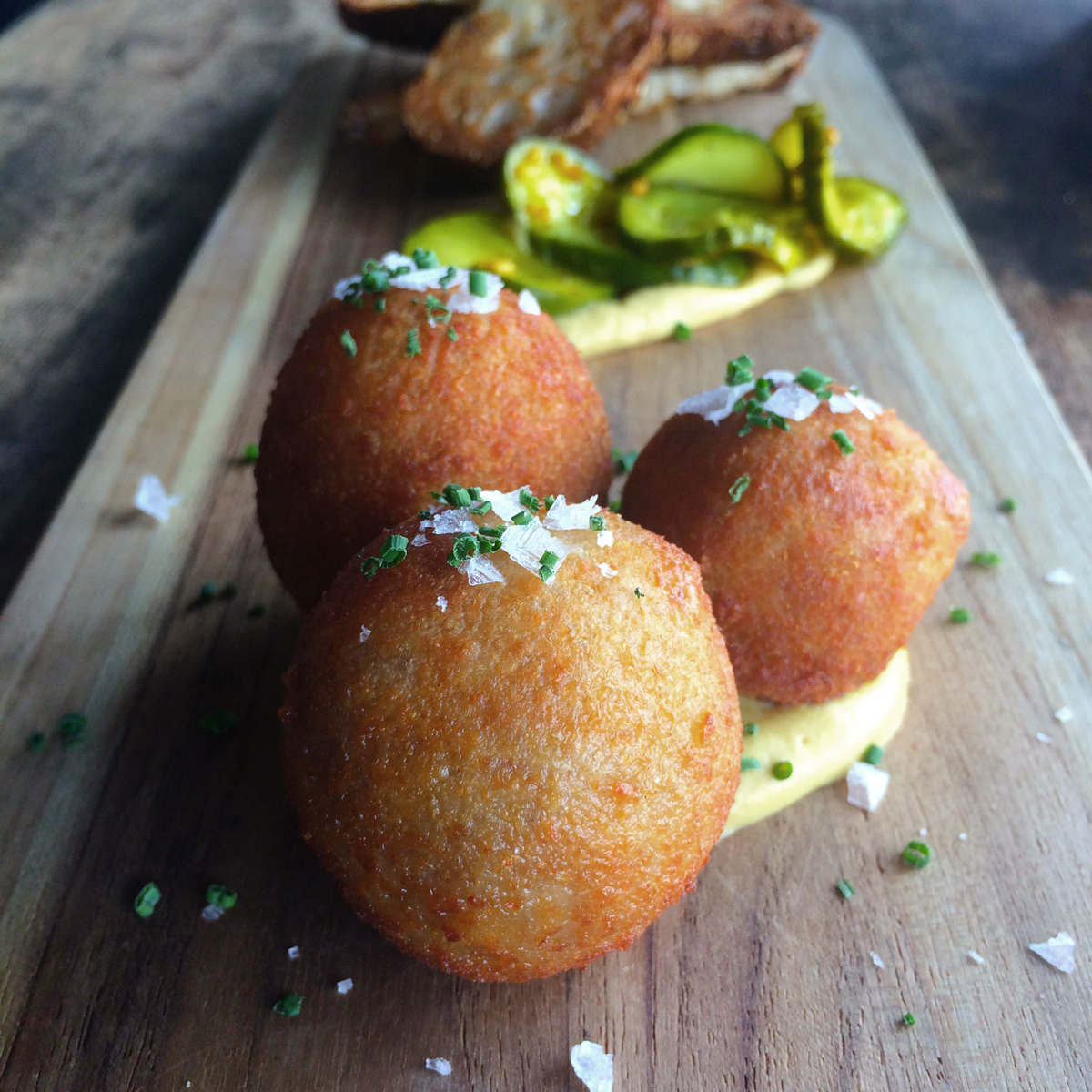 The Local Coral Gables restaurant fritters