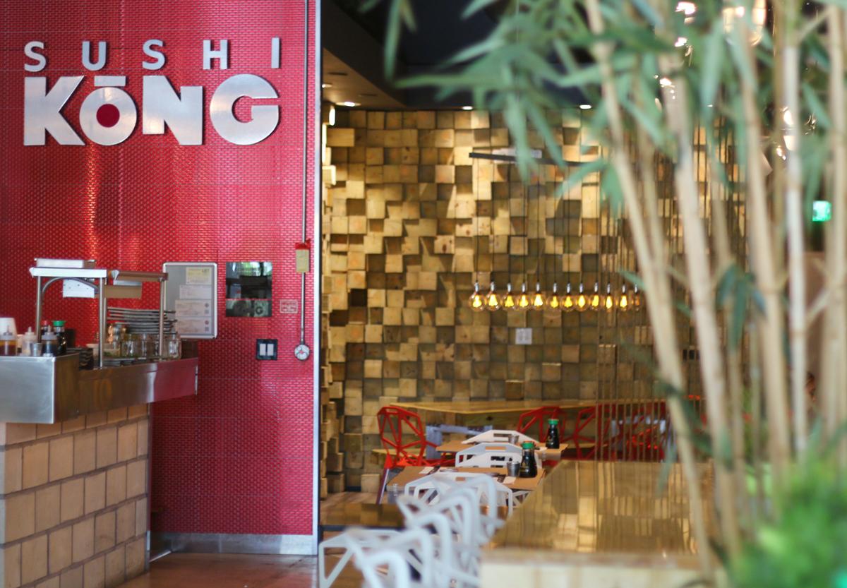 Sushi Kong, Miami restaurant near Goral Gables, Florida.