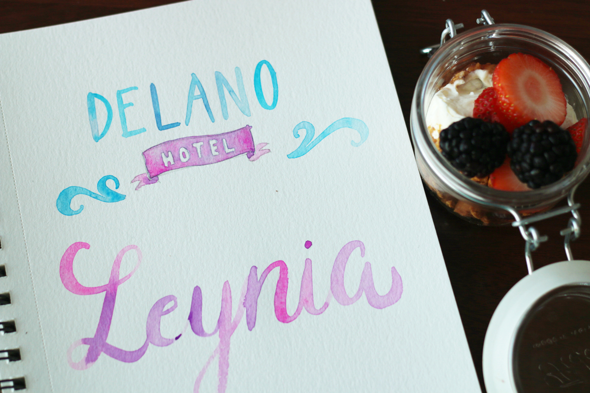 Leynia Brunch at Delano Hotel in South Beach Miami is worth the price.