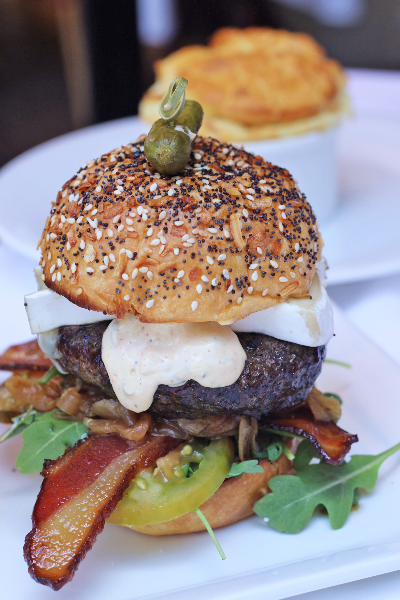 Best Burgers in Coral Gables: The Burger from The Local Craft Food & Drink restaurant on Giralda Ave - Miami, Florida
