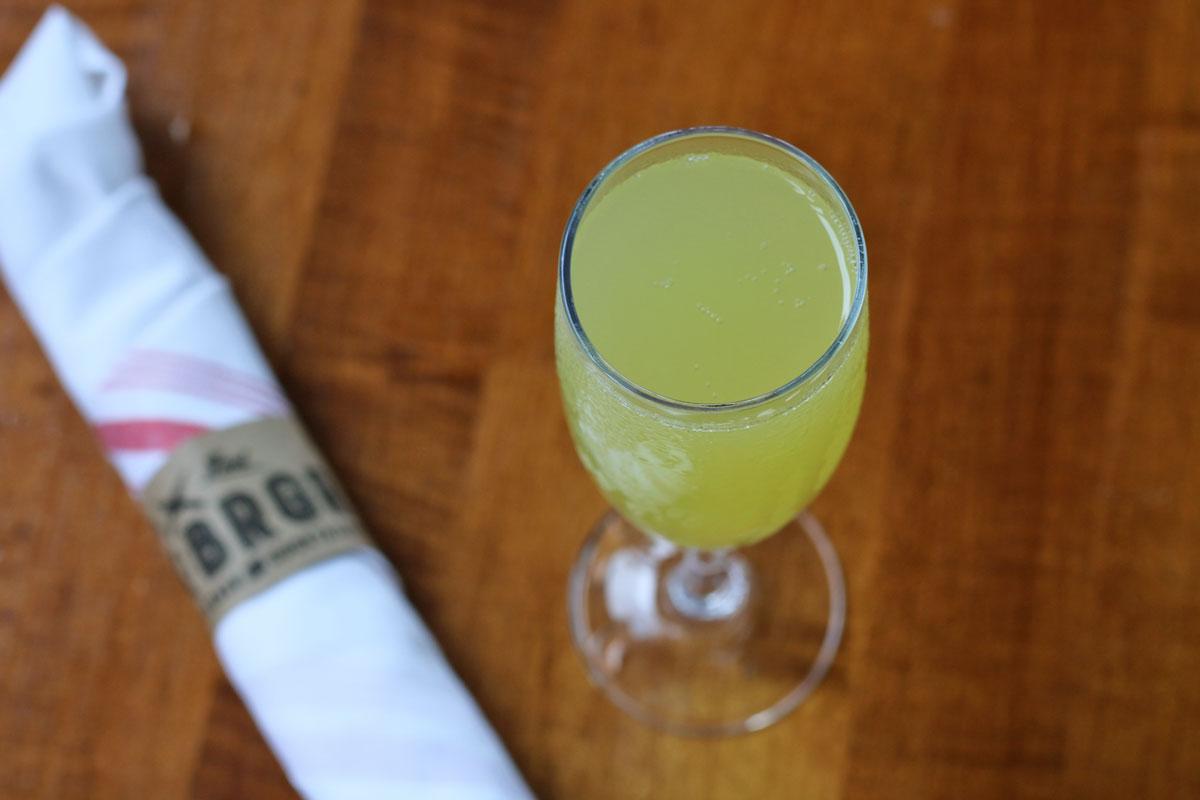 ROK:BRGR South Miami Saturday Brunch Mimosa