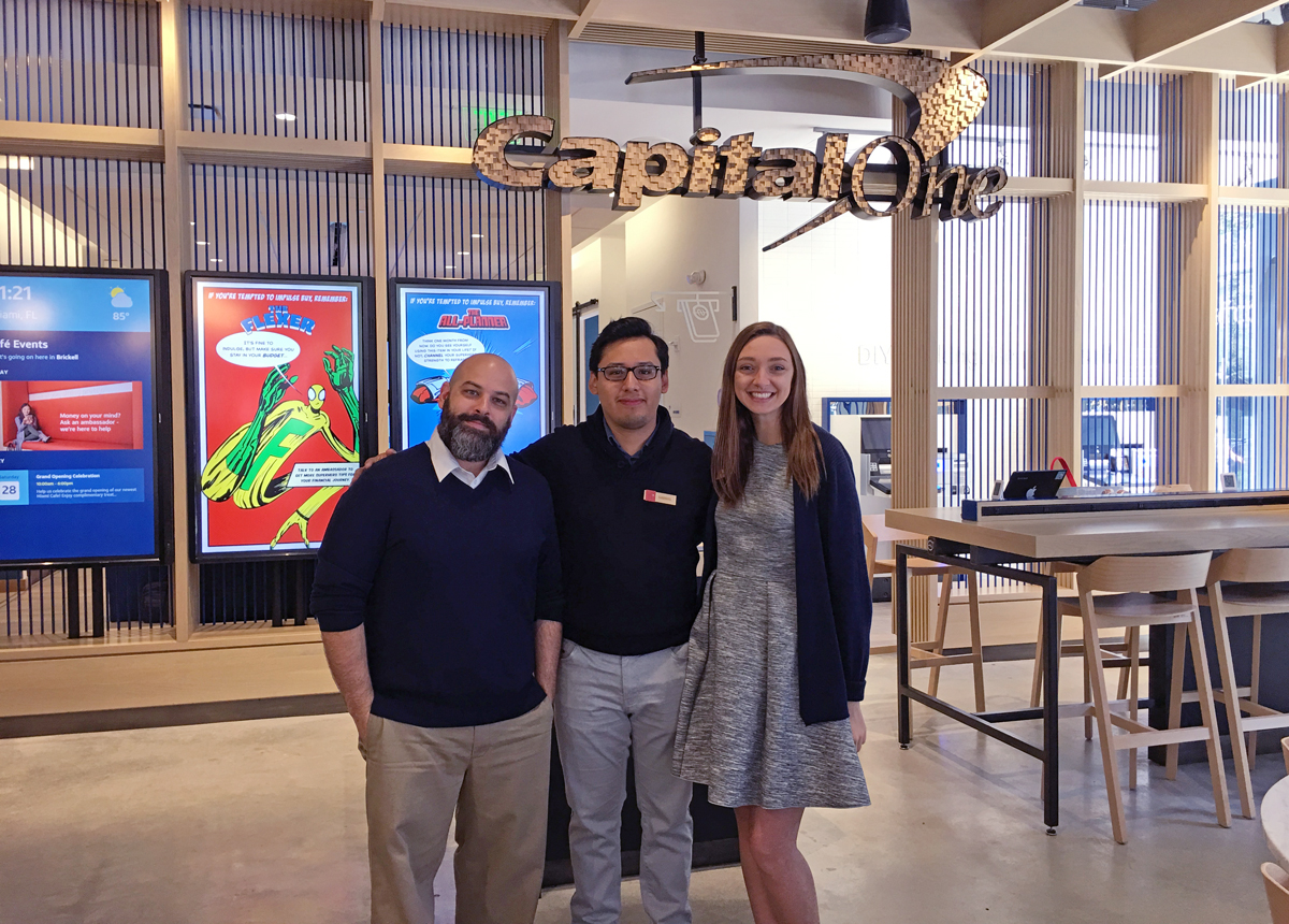 Capital One Cafe Brickell Grand Opening