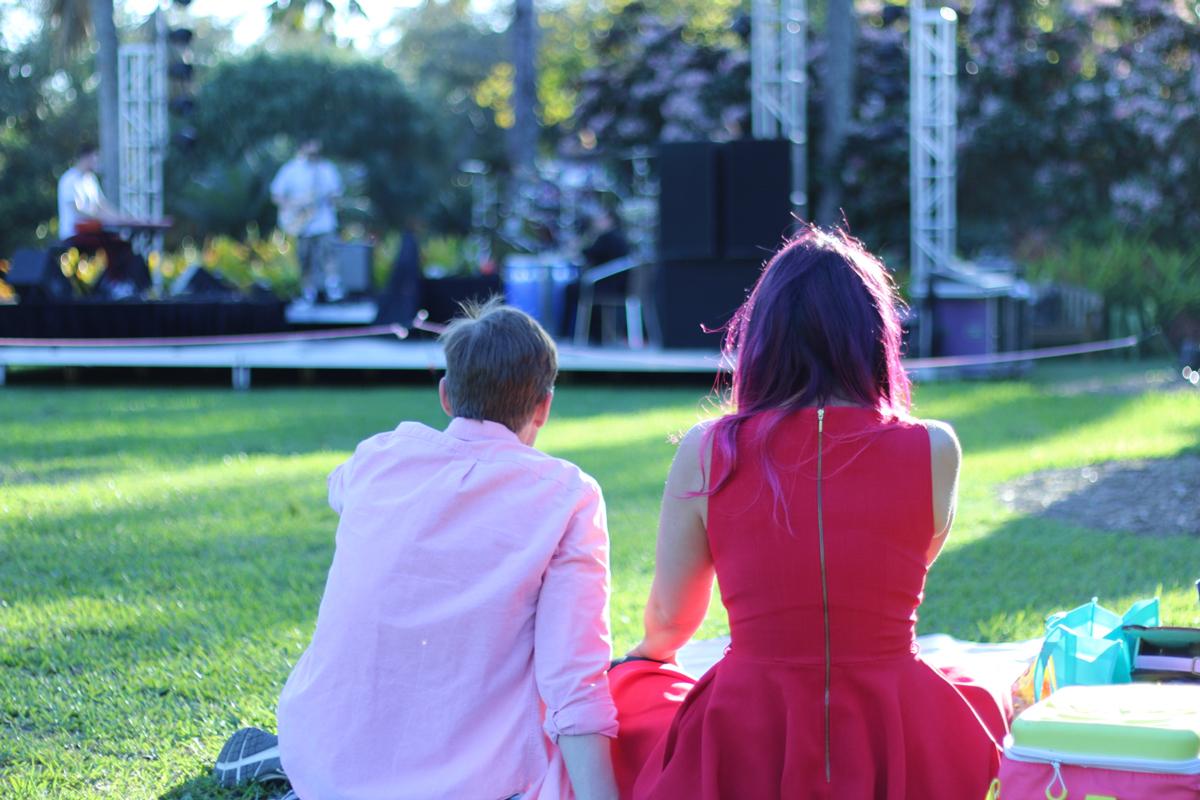 Fairchild Tropical Botanic Garden Valentine's Day Jazz Concert Picnic - Coral Gables Love