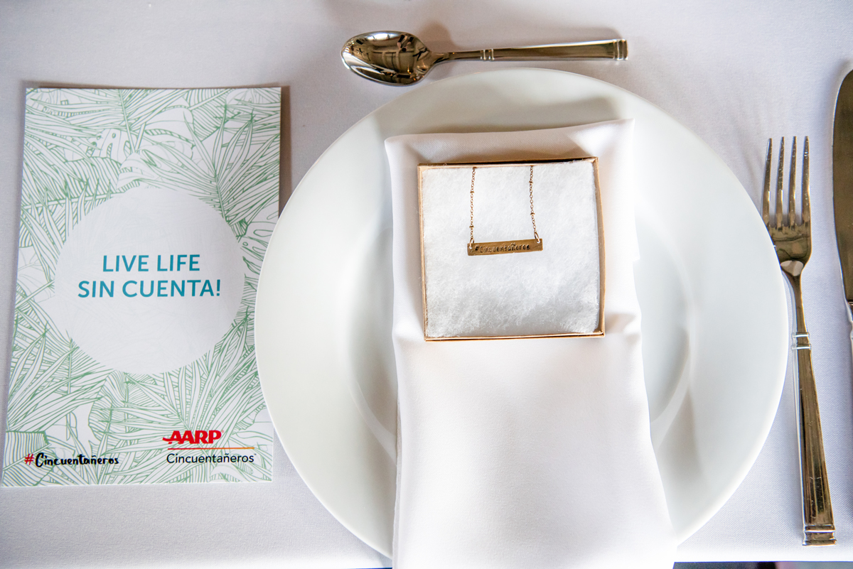AAARP Dinner starting a conversation about aging on Coral Gables Love