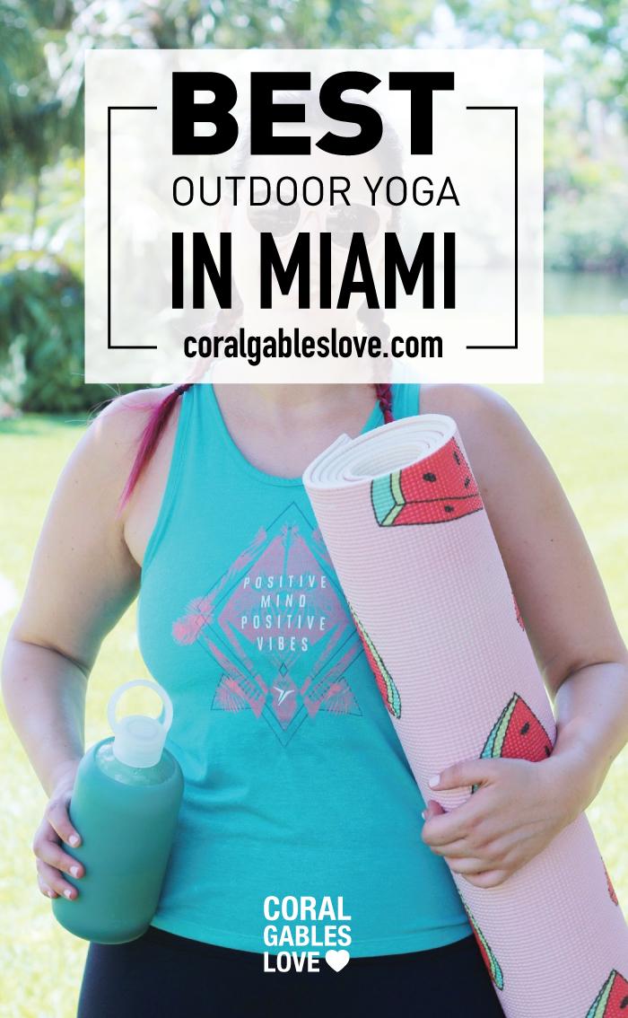Best Outdoor Yoga in Miami at Fairchild Tropical Botanic Garden - Coral Gables, Florida