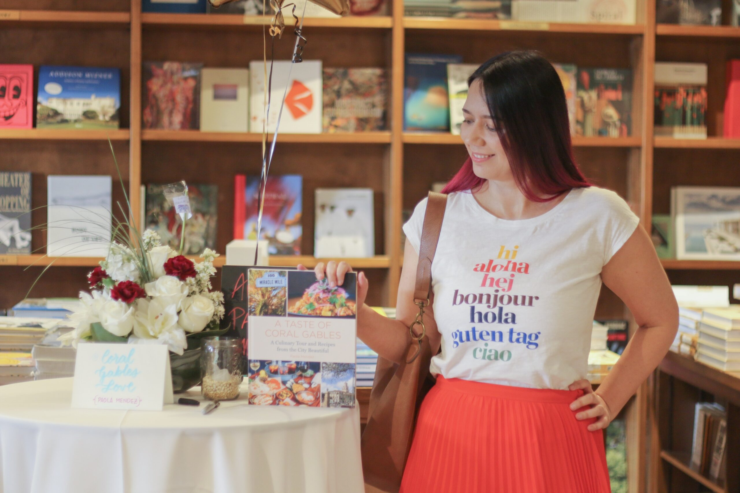A Taste of Coral Gables Book Signing with Author Paola Mendez founder of the blog Coral Gables Love