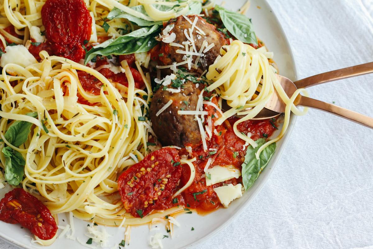 Chicken Parmesan Meatball Recipe