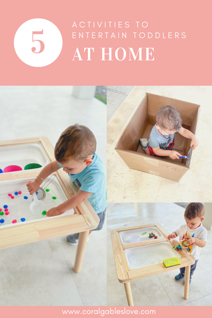 5 Activities To Entertain Toddlers At Home