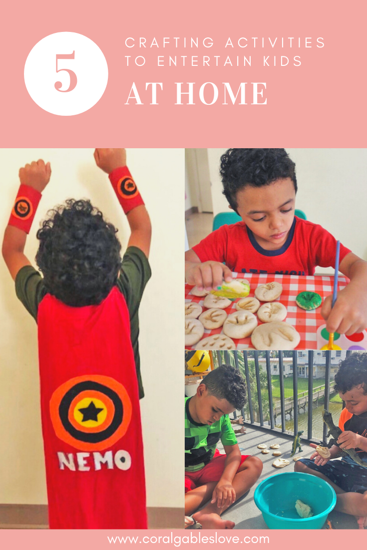 5 Crafting Activities To Entertain Kids At Home