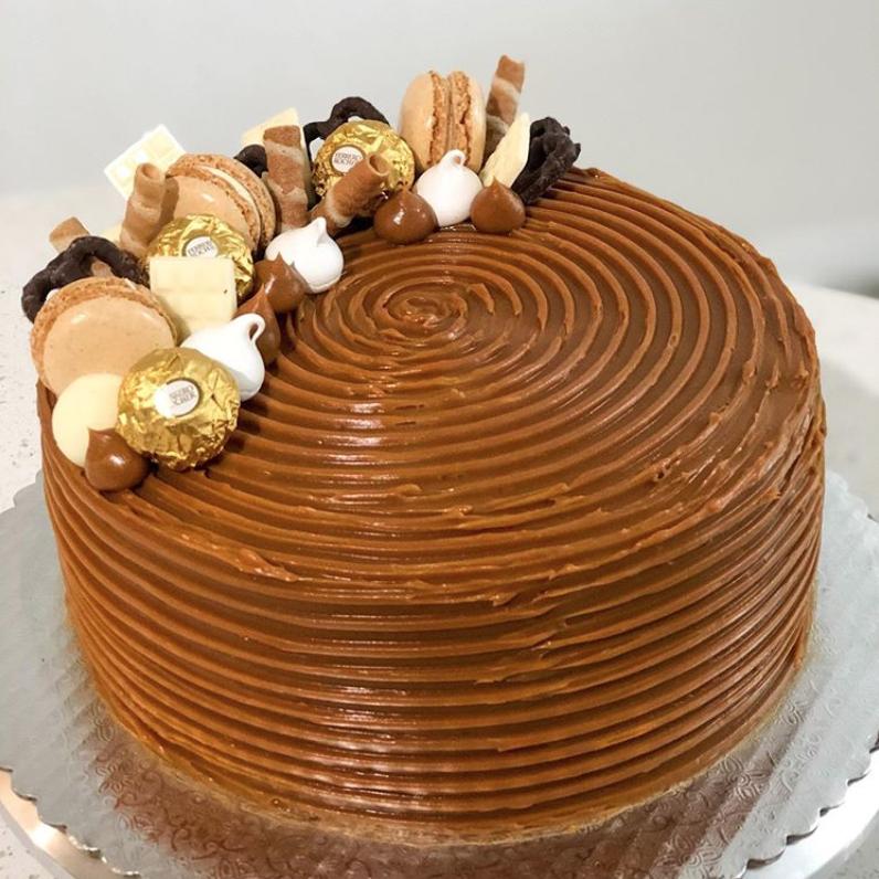 Cacao Bakery Miami Dulce de Leche Birthday Cake