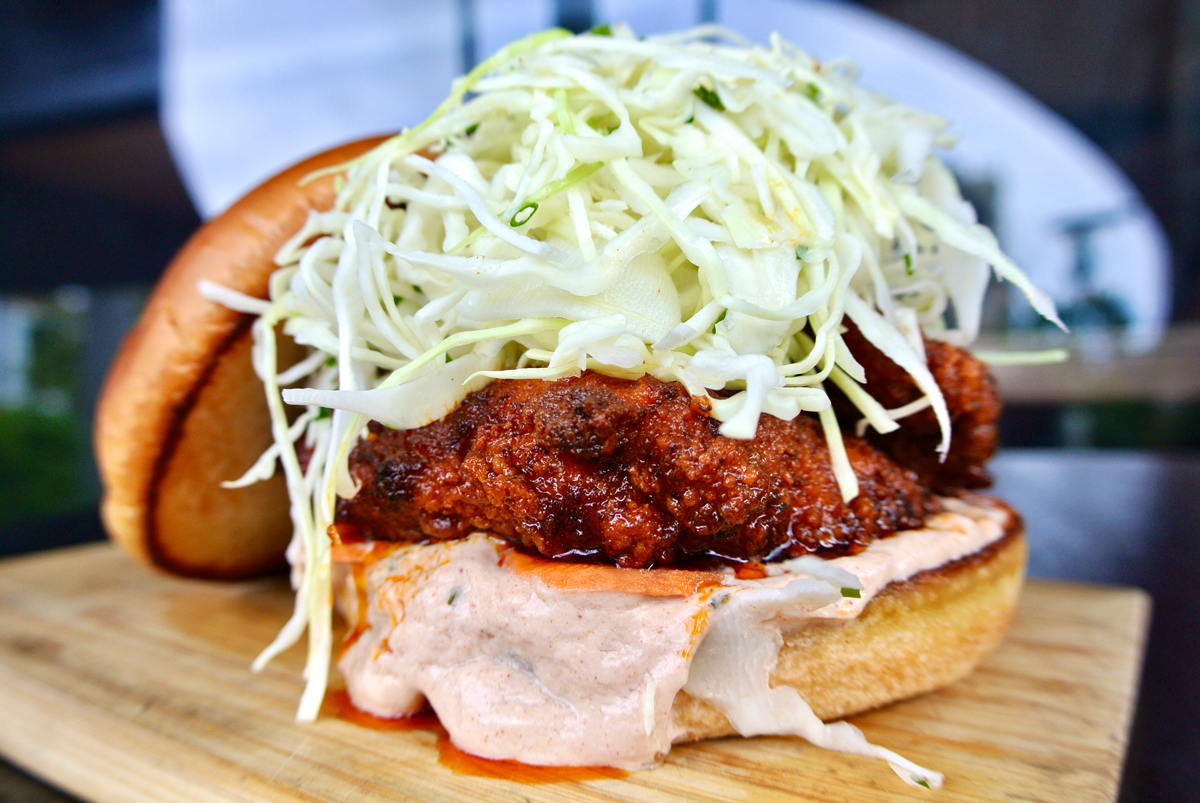 Eating House Miami Hot Chicken Sandwich