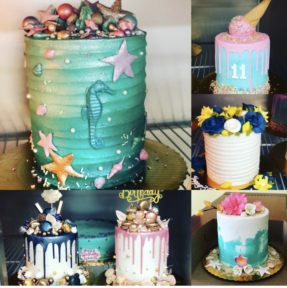 Madelyns Miami, Florida amazing special occasion birthday cake