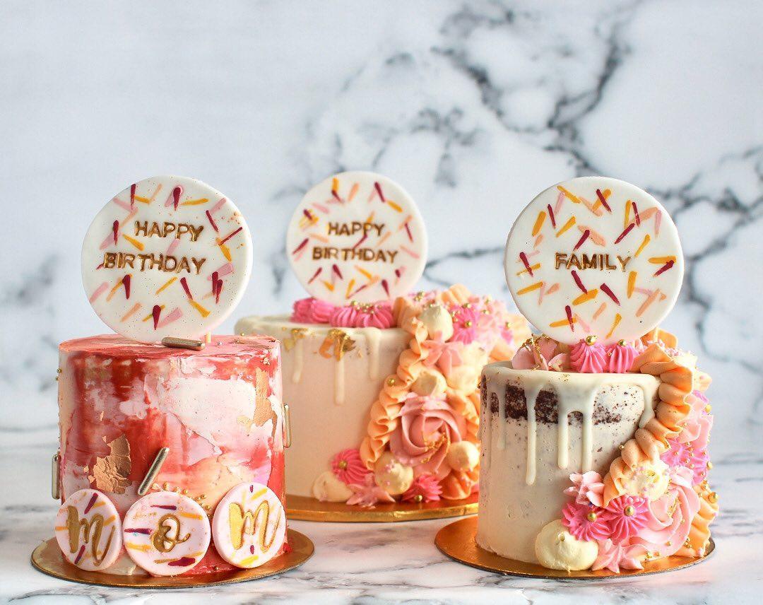 Tantay Miami Birthday cakes