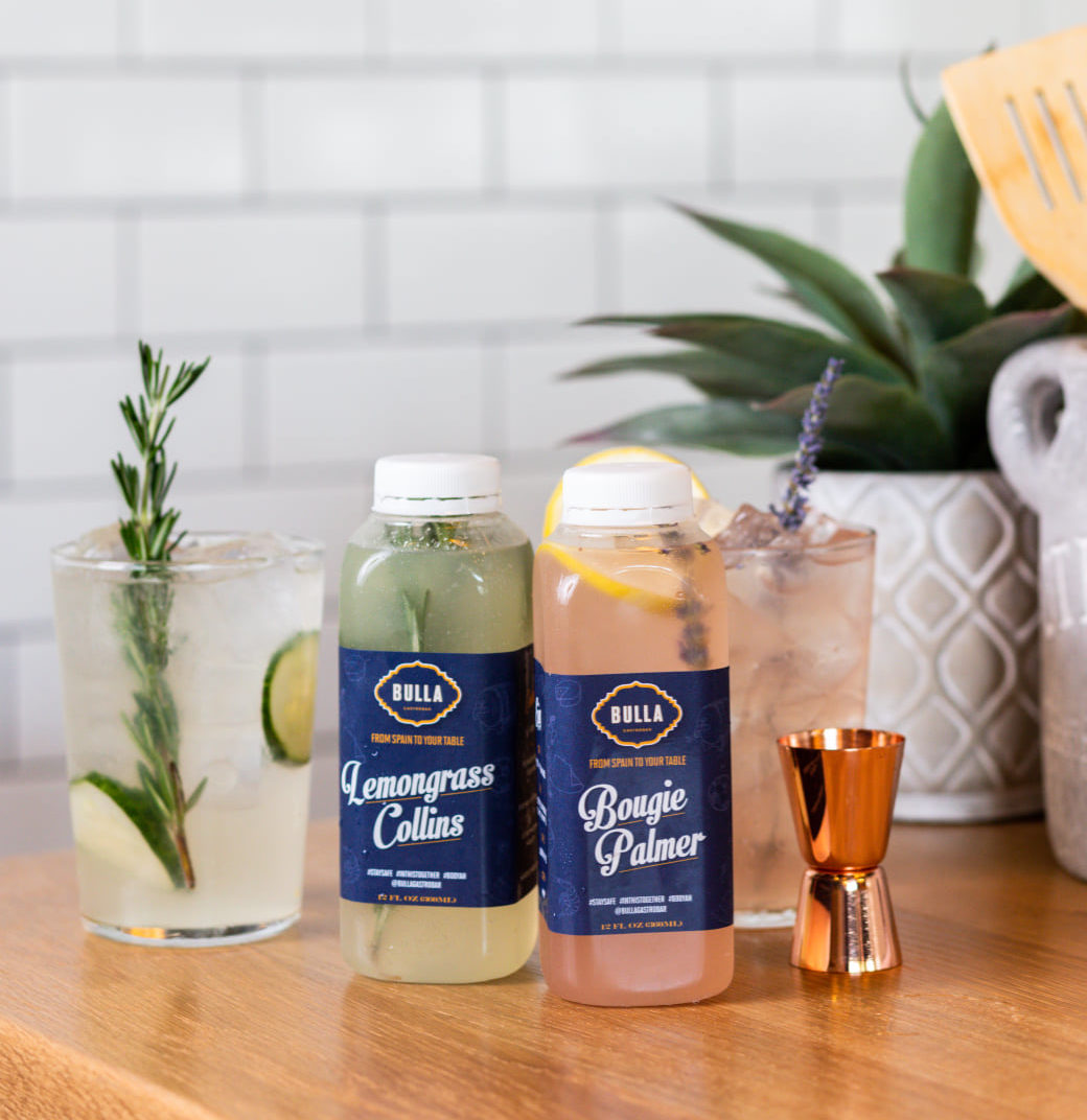 Miami Cocktails to go at Caja Caliente restaurant in Coral Gables