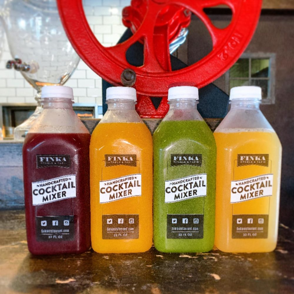 Miami Cocktails to go at Finka restaurant in Kendall