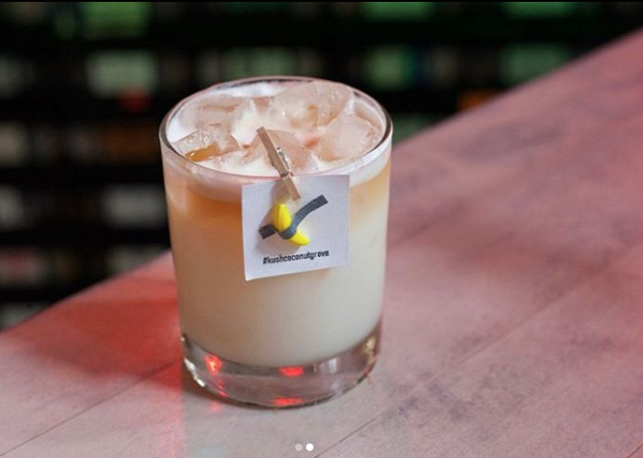 Kush Coconut Grove 120K cocktail