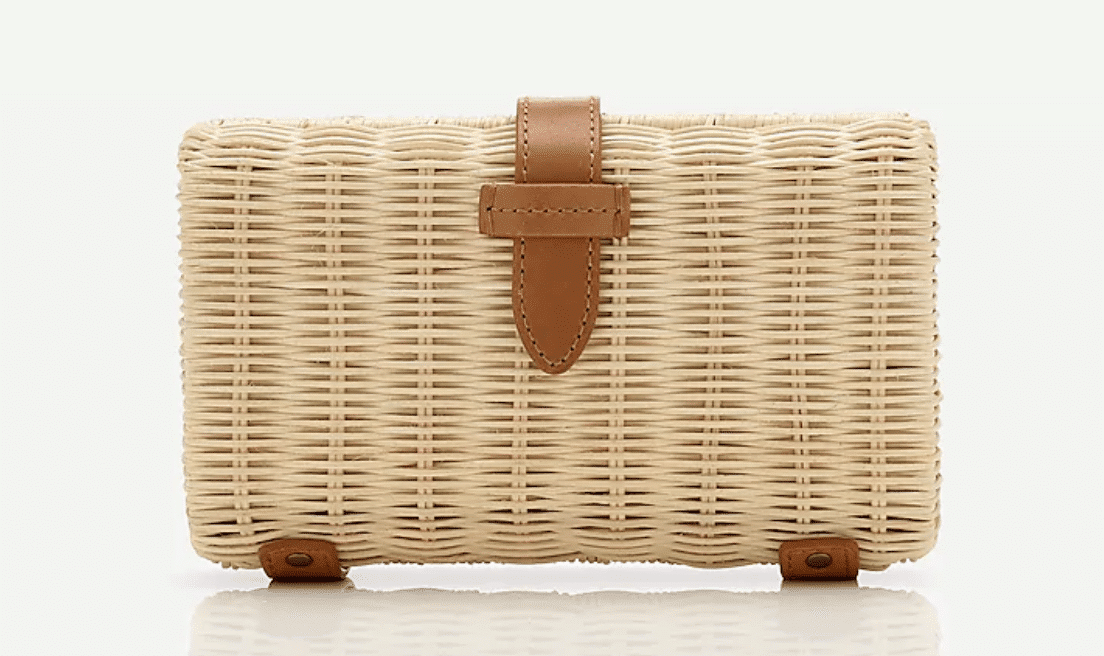 Best Gifts For Her 2020 Gift Guide Rattan Clutch