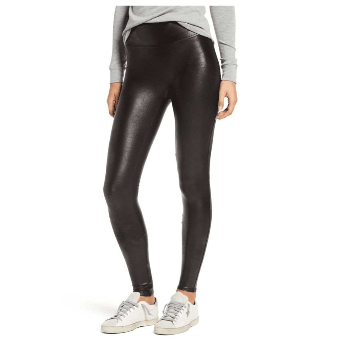 Best Gifts For Her 2020 Gift Guide Faux Leather Leggings by Spanx