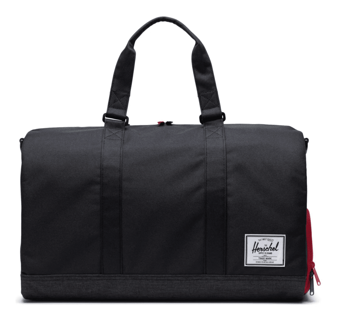 best gifts for him herschel supply traveling duffel bag with shoe compartment