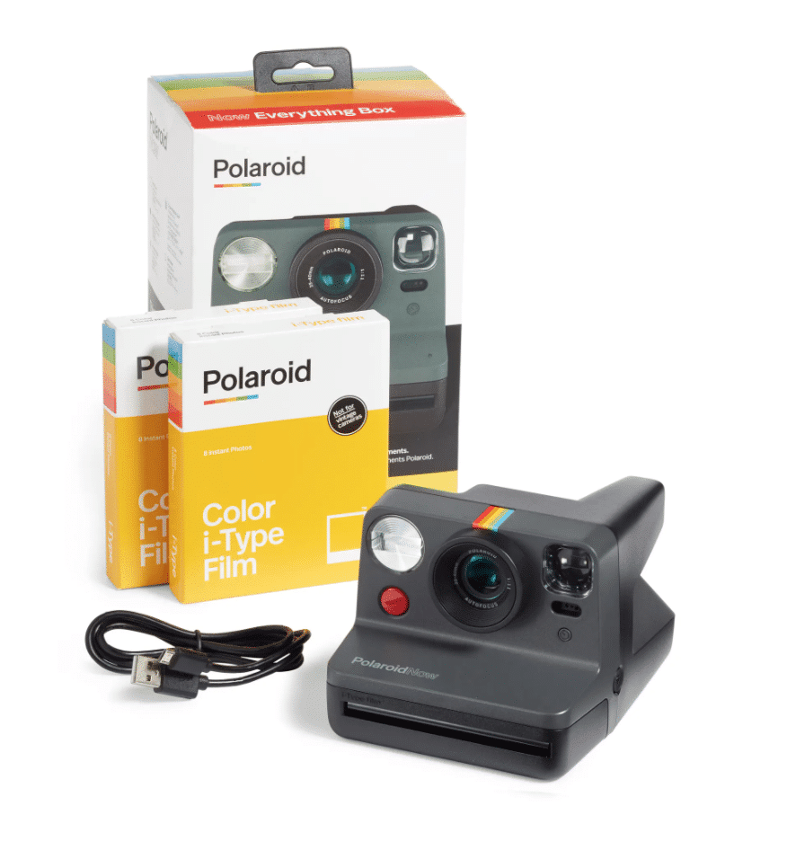 best gifts for him polaroid camera set
