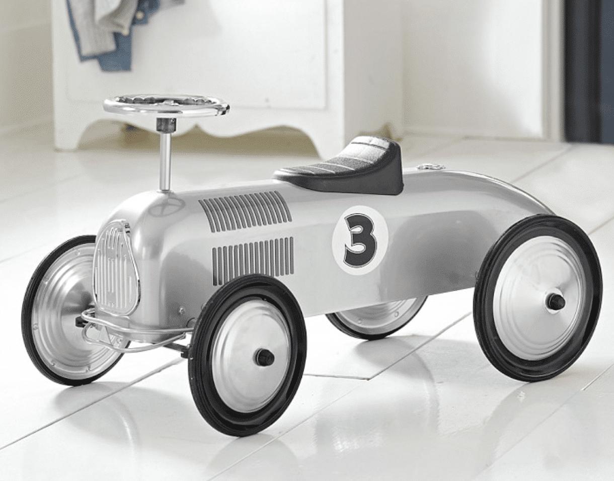 best kids gifts 2020 silver race car ride-on