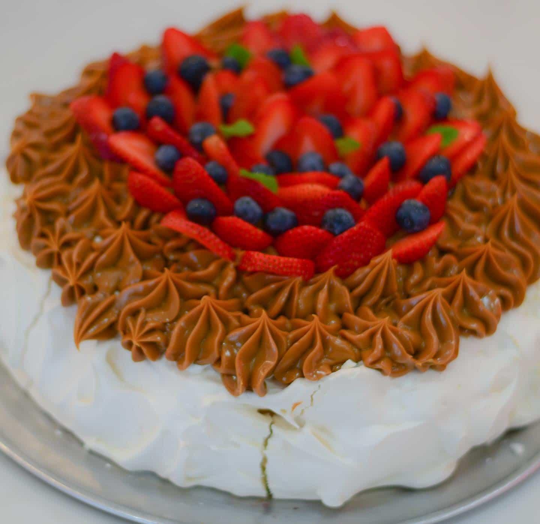 Miami Desserts: Dulce de Leche Pavlova from Havana Harry's in Coral Gables