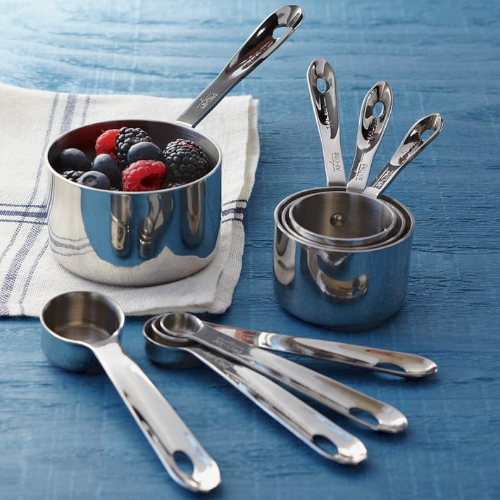 Best Baking Gifts stainless steel measuring cups and spoons