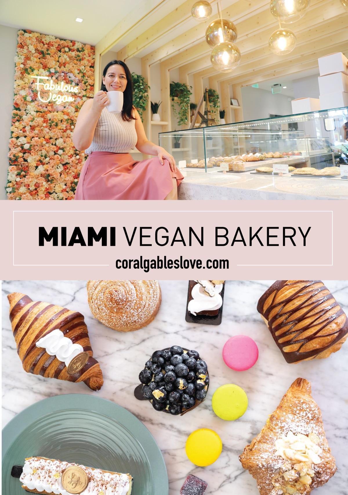 Miami Vegan BAkery L'Artisane in Coral Gables, Florida