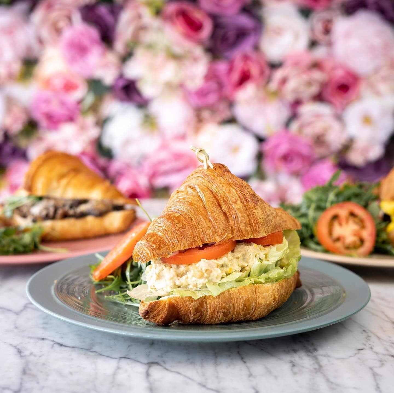 Lartisane Vegan Bakery Coral Gables tuna sanwich