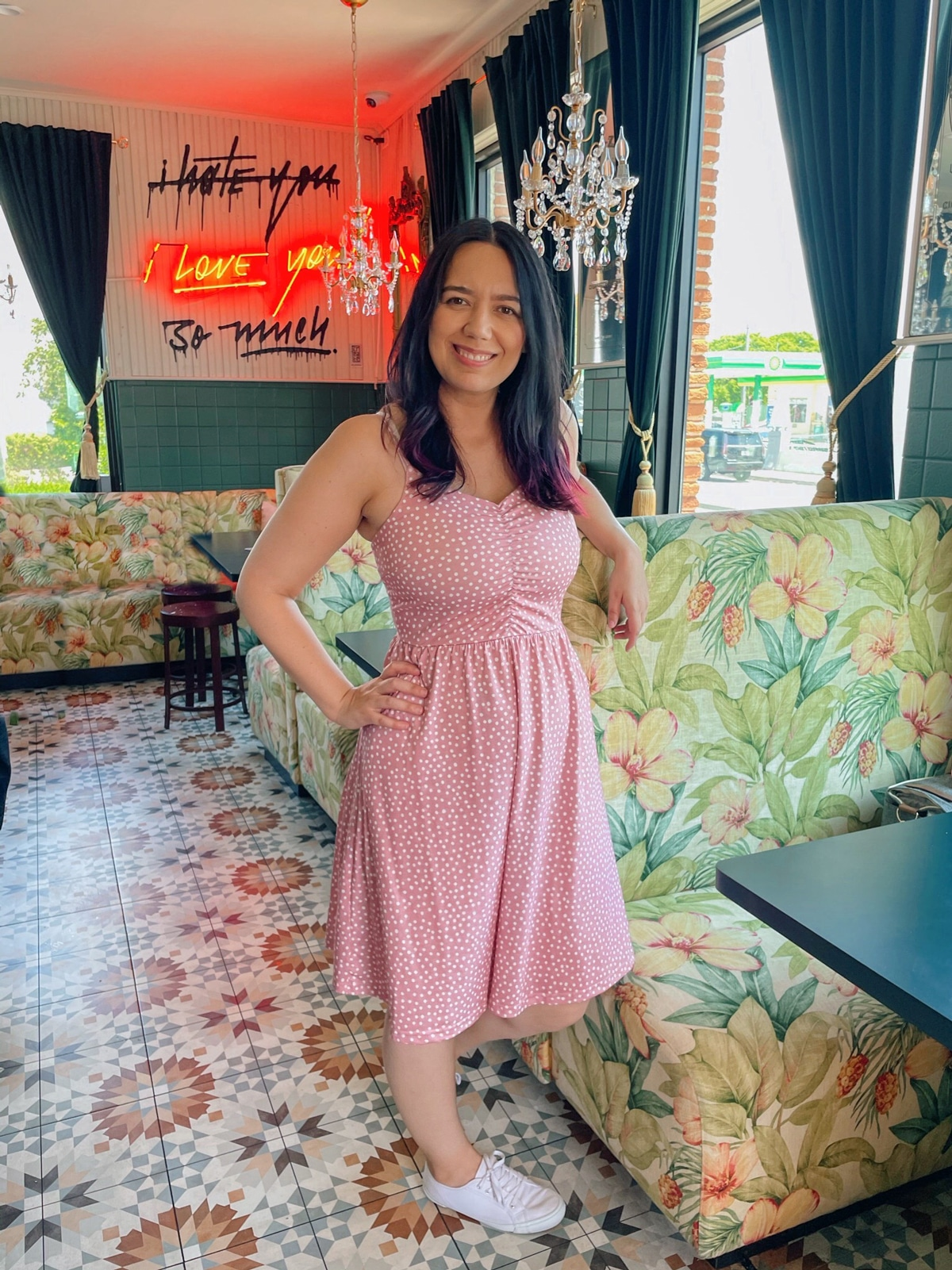 Cafe Kush MiMo Miami Historic District Hidden Gem REstaurant for Brunch indoor seating