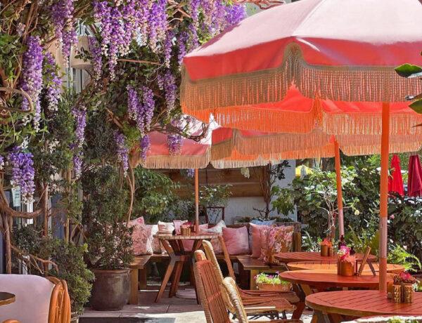 Best Brunch Spots in Miami: Little Hen in Downtown Miami looks like a secret garden serving delicious food
