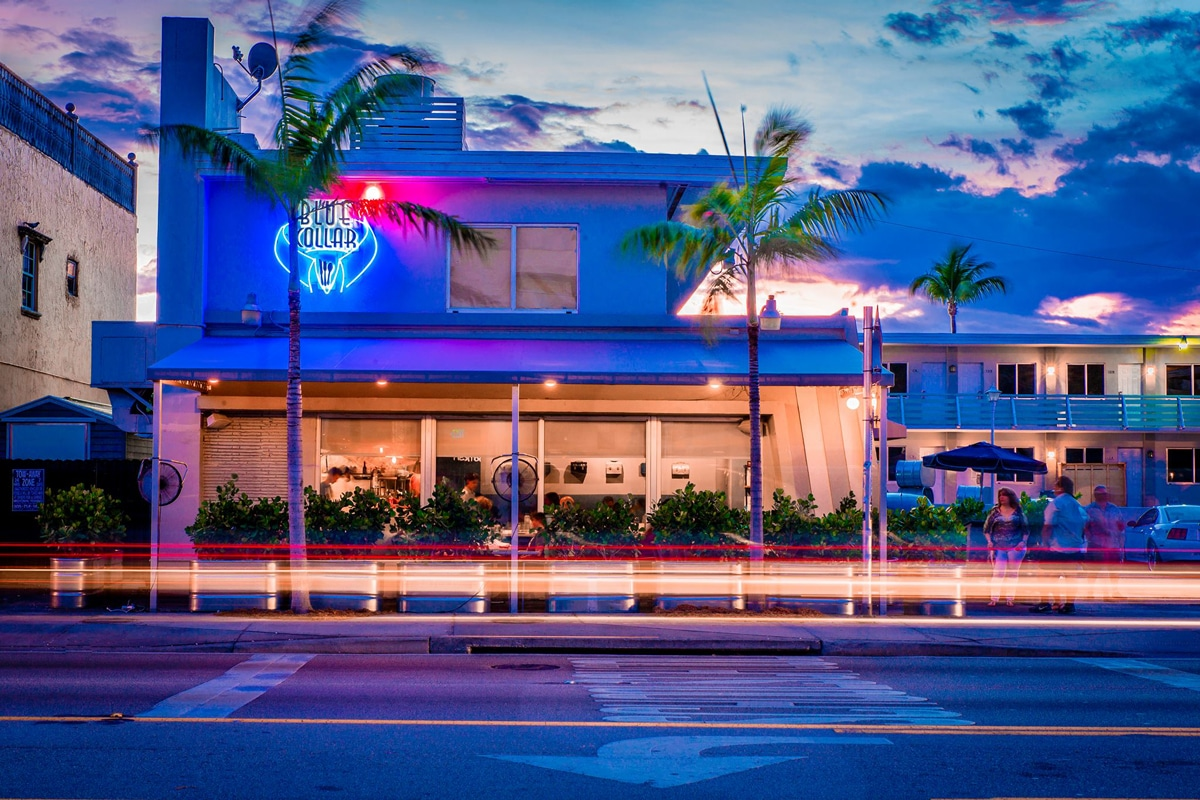 Blue Collar MiMo Miami Historic District Hidden Gem REstaurant