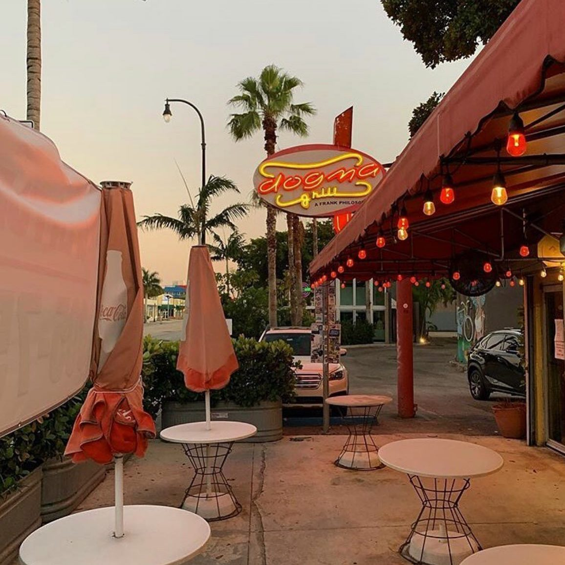 Dogma Grill MiMo Miami Historic District Hidden Gem REstaurant for Brunch