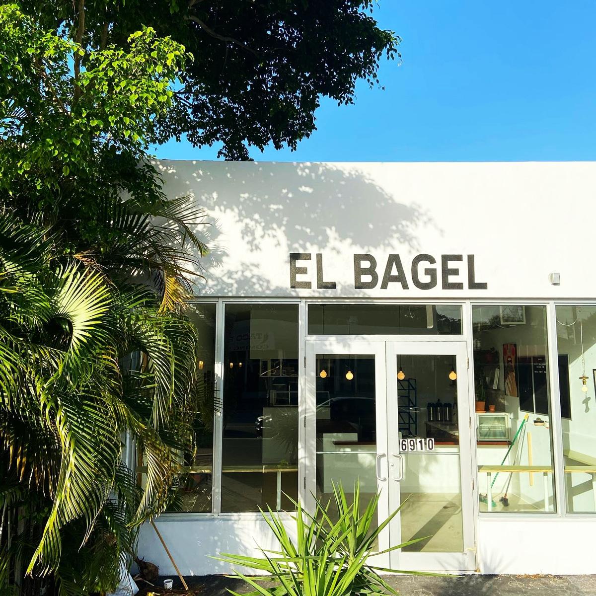 El Bagel Best Bagels in Miami restaurant in MiMo District