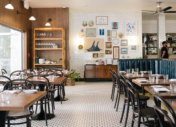 Mr Mandolin Mimo District Restaurant Mediterranean indoor seating