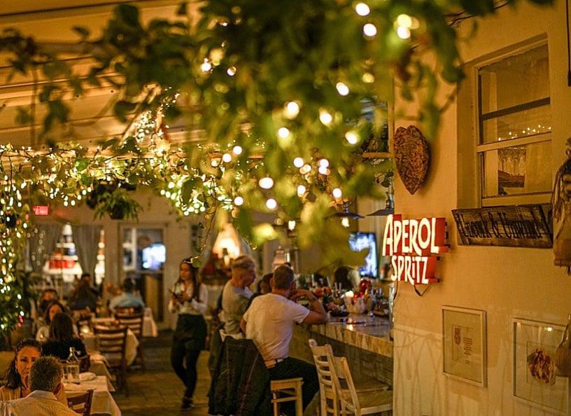 Via Verdi Italian restaurant in Mimo District Miami
