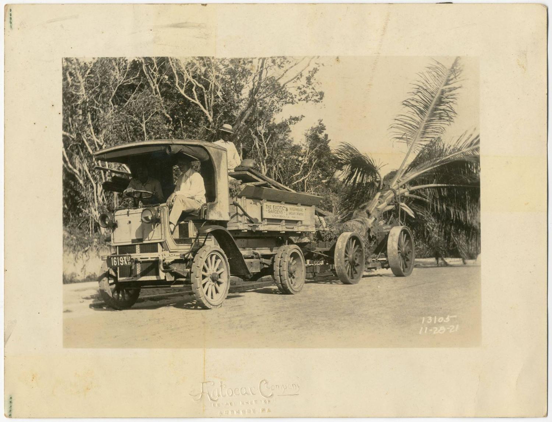 Alec Donn Exotic Gardens Vizcaya November 1921
